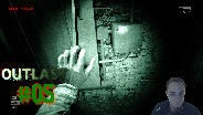 Let's Play Outlast #05 - K***k, F***k Schalter [Facecam] [HD] [Deutsch]