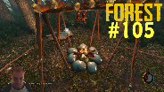 THE FOREST [HD] [FACECAM] [0.08] #105 - Ferienparadies ☼ Let's Play The Forest